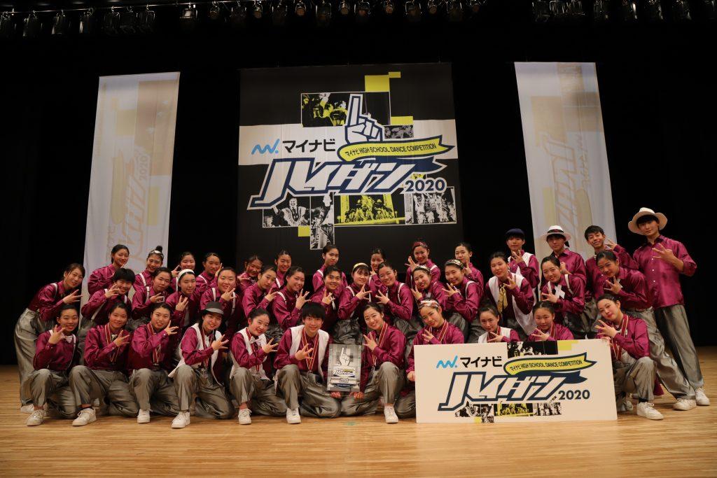 [2nd] MINOH DANCE CREW (大阪府立箕面高等学校)